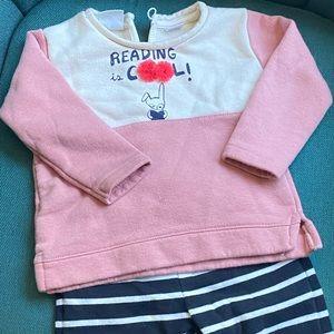 Zara pants and sweater set